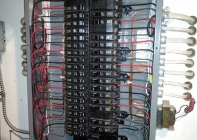 Wiring in switch board